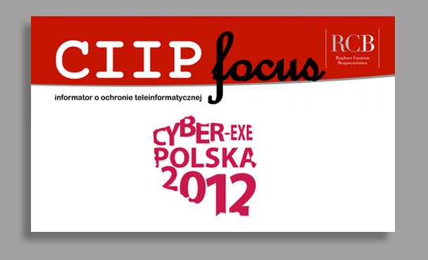CIIP focus o Cyber-EXE Polska 2012